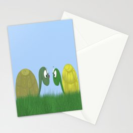 Ellie and Ollie, and Their New Friend Stationery Cards