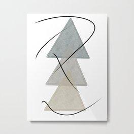 TRES Metal Print