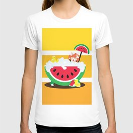 Watermelon Bath T-shirt