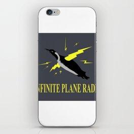 Infinite Plane Radio iPhone Skin