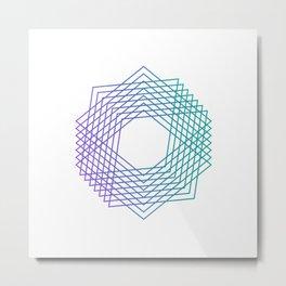 Square or Octagon Metal Print