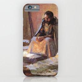The Nativity By Gari Melchers iPhone Case