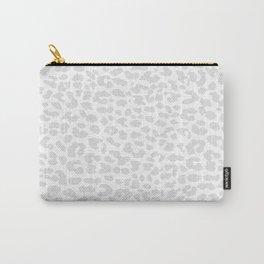 Pale Gray Leopard Tasche