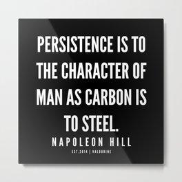 31   | Napoleon Hill Quote Series  | 190614 Metal Print