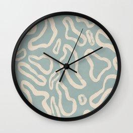 Organical shapes #443 Wall Clock