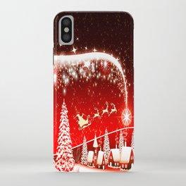 Santa Beautiful Christmas iPhone Case