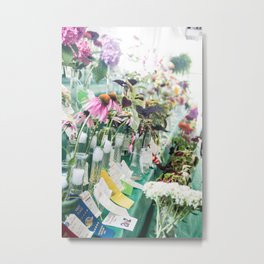 Floral Competition   Metal Print