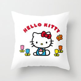 Charlie Snoopy Hello Tweety Bugs Bunny Throw Pillow