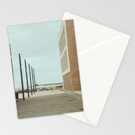 Livorno, Italy - Overlooking the Seaside Stationery Cards