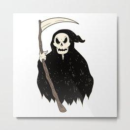 Grim Reaper best gift Metal Print