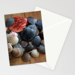 A Pile of Scallop Shells Stationery Cards