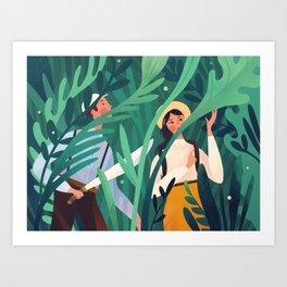 Botanist Art Print