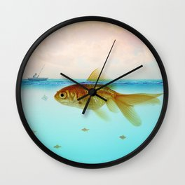 Drop me a line - Fishing for a Chat Wall Clock
