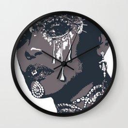 Queen Rih Wall Clock