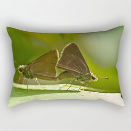 Butterfly Soulmates Rectangular Pillow