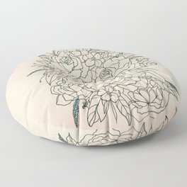 Bouquet series Floor Pillow