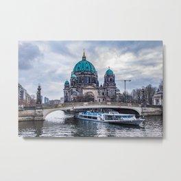 Spree River In Berlin, Germany Metal Print