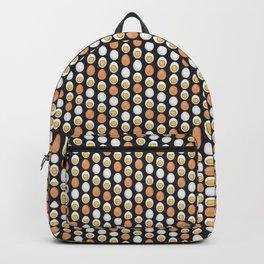 Hard Boiled Bumnuts - Egg stravaganza in Black Backpack