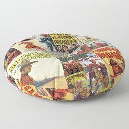 Mounties Floor Pillow