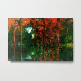 Strange Lake Metal Print