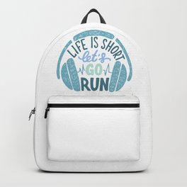 Let's go run Backpack