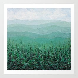 Sugar Pine Forest Art Print