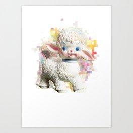 'Kitsch'tory - Psychdelambic Art Print