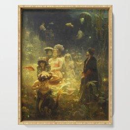 Ilya Repin - Sadko Serving Tray