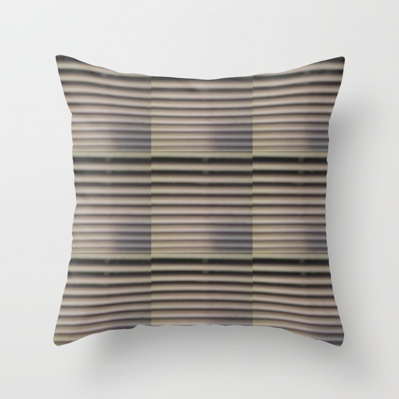 Ac Vent - Texture Throw Pillow by Lreidart PLW7714020