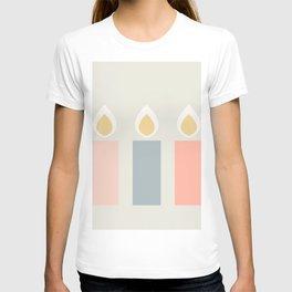 Hygge Xmas Candles T-shirt