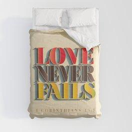 Love Never Fails! Comforters