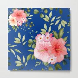 Watercolor Flowers 23 Metal Print