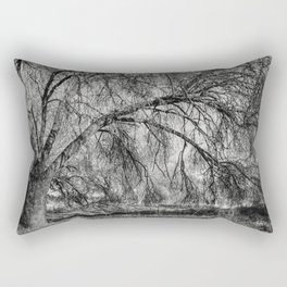 The old ash tree Rectangular Pillow