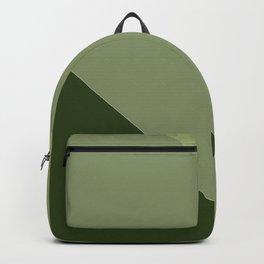 Pine Moss Sage Diagonal  Backpack