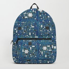 Blue tech Backpack
