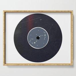 Vinyl Record Zodiac Sign Scorpio Serving Tray