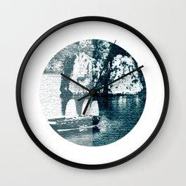 Bai Tho Junks Halong Bay Vietnam Wall Clock