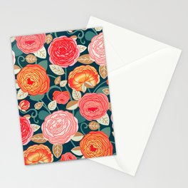 Climbing Rosa Vines - Vintage  Stationery Cards