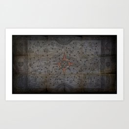 Atlas Canvas Art POE Path of Exile Art Print