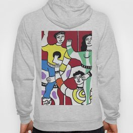 Fernand Léger The Acrobats 1942 (Les Acrobates) Artwork Reproduction, Tshirts Posters Bags for Men Women and Kids Hoody