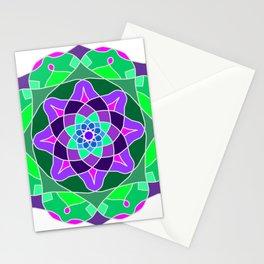 Mandala in nostalgic colors Stationery Cards