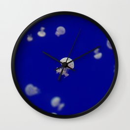 Jelly fish under water Beautiful Fish Wall Clock