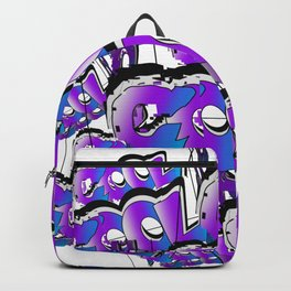 Cool Graffiti Typography Lettering Art / GFTTypography002 Backpack