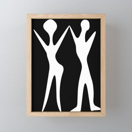 Dancing Couple Framed Mini Art Print