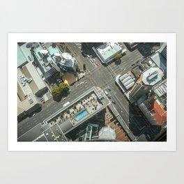 Sky Tower View Art Print