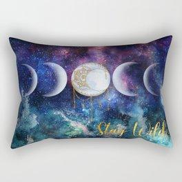 Celestial Ocean Moon Phases | Stay Wild Rectangular Pillow