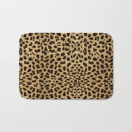 Cheetah Print Badematte