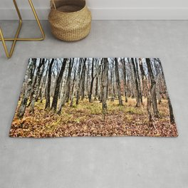 Fall in the Woods Rug