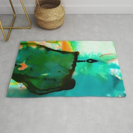 Abstract Bliss 4P by Kathy Morton Stanion Rug