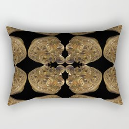 Fractal Art - Golden Pyramid Rectangular Pillow